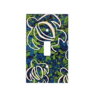 LineA Blue Honu Light Switch Cover