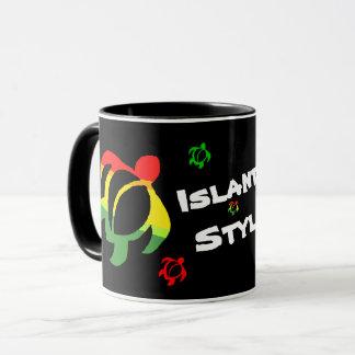 LineA Island Style Honu Rasta Mug