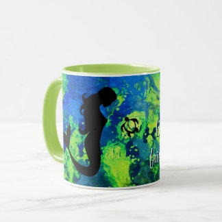 "LineA Mermaid ""Life is Beautiful w/ Friends..."" Mug"