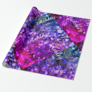 LineA Purple Haze Wrapping Paper