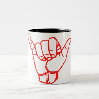 LineA Shaka Two-Tone Coffee Mug