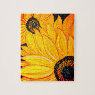 LineA Sunflower Duo Jigsaw Puzzle