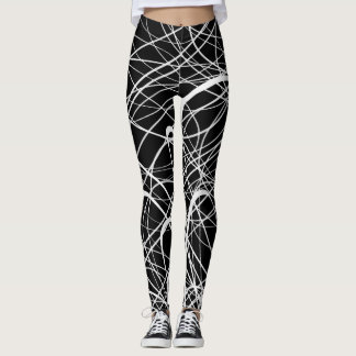 Linear Abstract1 - Leggings