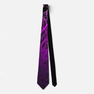 Linear Explosion Purple - Tie