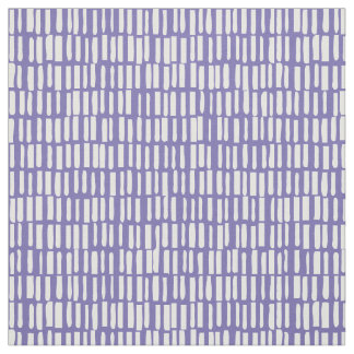 Linear, Modern Pattern - Sagamore - Purple Lily Fabric