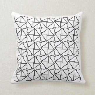 linear pillow pattern