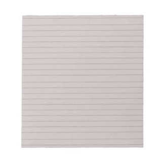 lined beige paper. notepad