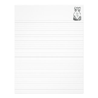 "Lined Binder Paper 8.5""x11"" Fits Avery Custom"