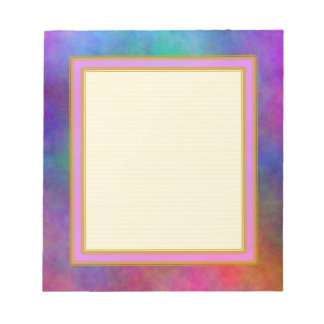 Lined Garden Sunlight Small Note Pad