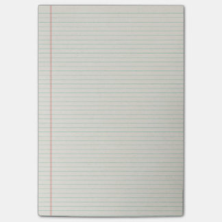 Lined Notebook Binder Paper Post-it Notes