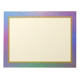 """Lined """"Plasma Rain Clouds"""" Note Pads"""