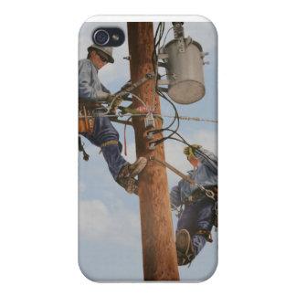 lineman art on iPhone case, iPhone 4 Cases