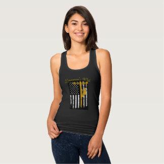 Lineman's Wife T-shirt Yellow