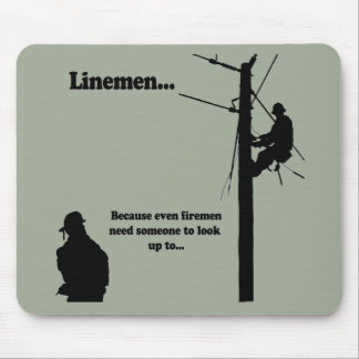 Linemen Because Mouse Pad