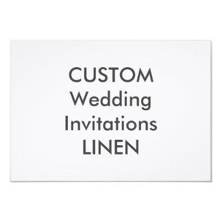 "LINEN 5"" x 3.5"" Wedding Invitations"