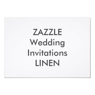 "LINEN 6.25"" x 4.5"" Wedding Invitations"