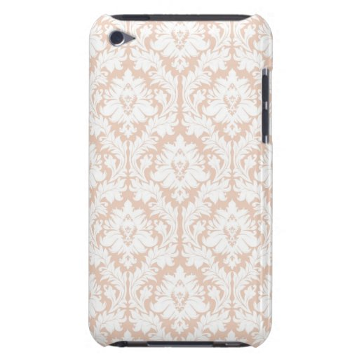 Linen Beige Damask iPod Touch Cover
