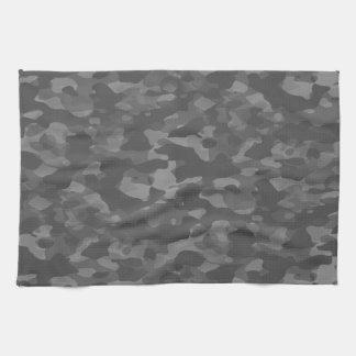 Linen of kitchen Gray Camouflage Kitchen Towel