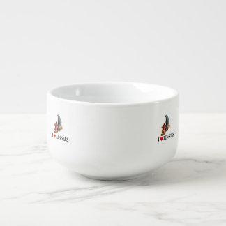 Lineolated Parakeet Soup Mug