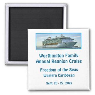 Liner Cruise Ship RFN1 Custom Fridge Magnet