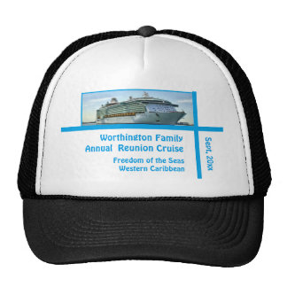 Liner Cruise Ship RFN1 Custom Trucker Hat