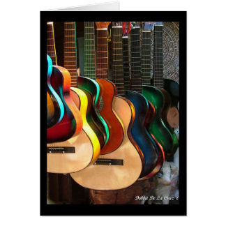 Lines and Curves Guitars Card