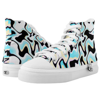 Lines And Spots♥ High Tops
