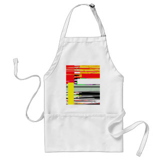 Lines and squares standard apron