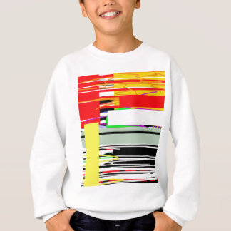 Lines and squares sweatshirt