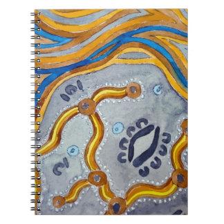 Lines - Authentic Aboriginal Arts Notebooks