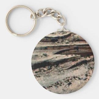 lines in the white desert keychain