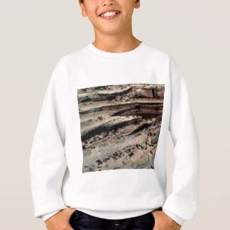 lines in the white desert sweatshirt
