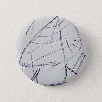 Lines of a Samurai 2 Inch Round Button