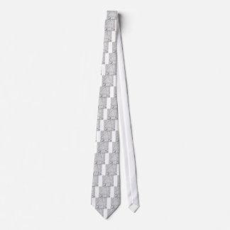 Lines of a Samurai Tie