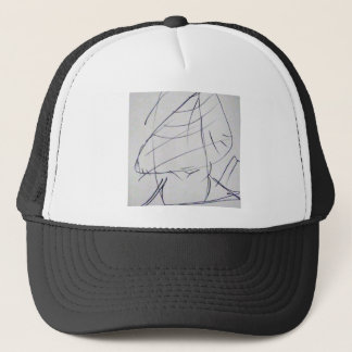 Lines of a Samurai Trucker Hat