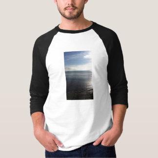 Lines Summer Mens T-Shirt 3/4 Sleeve Sunpyx