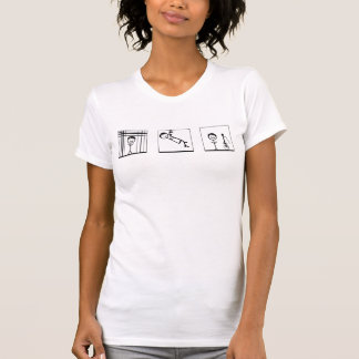 """""""lines,vines,and trying times"""" tee shirt"""