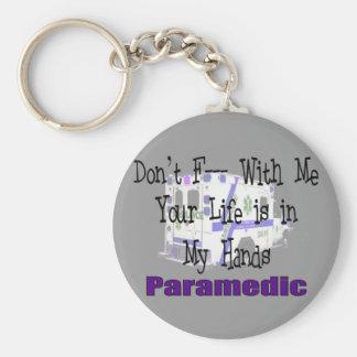 """L'infirmier """"ne font pas F--- Avec moi """" Porte-clefs"""