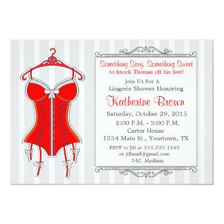 Lingerie Bridal Shower Invitation 75