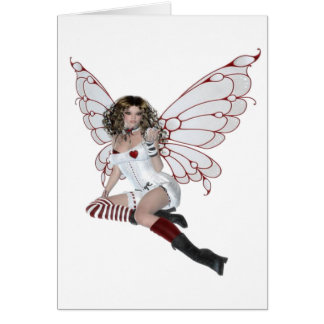 Lingerie Fairy Card