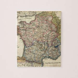 Linguistic map of France Jigsaw Puzzle