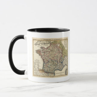 Linguistic map of France Mug