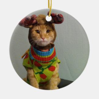 Link & Chester Christmas Ceramic Ornament