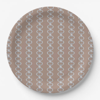 linked paper plate