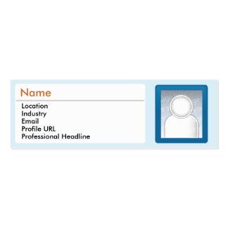 LinkedIn - Skinny Pack Of Skinny Business Cards