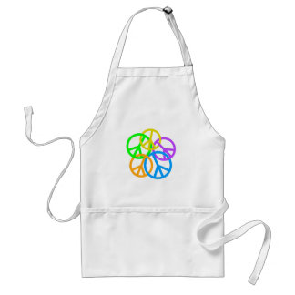 LINKING PEACE SIGNS STANDARD APRON