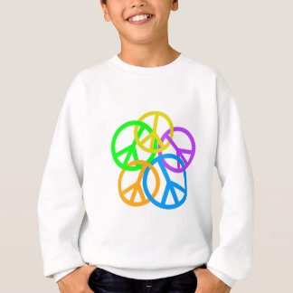 LINKING PEACE SIGNS SWEATSHIRT