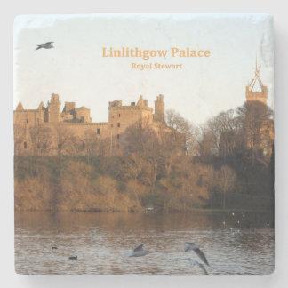 Linlithgow Palace Stone Beverage Coaster