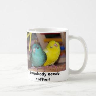 Linnies Wake Up, Somebody needs coffee! Coffee Mug