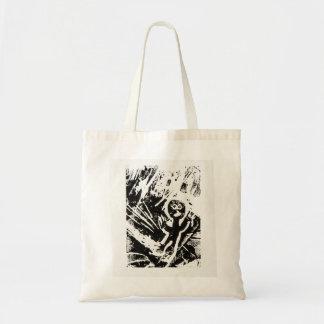 Lino Print Figure by Johnny Tote Bag